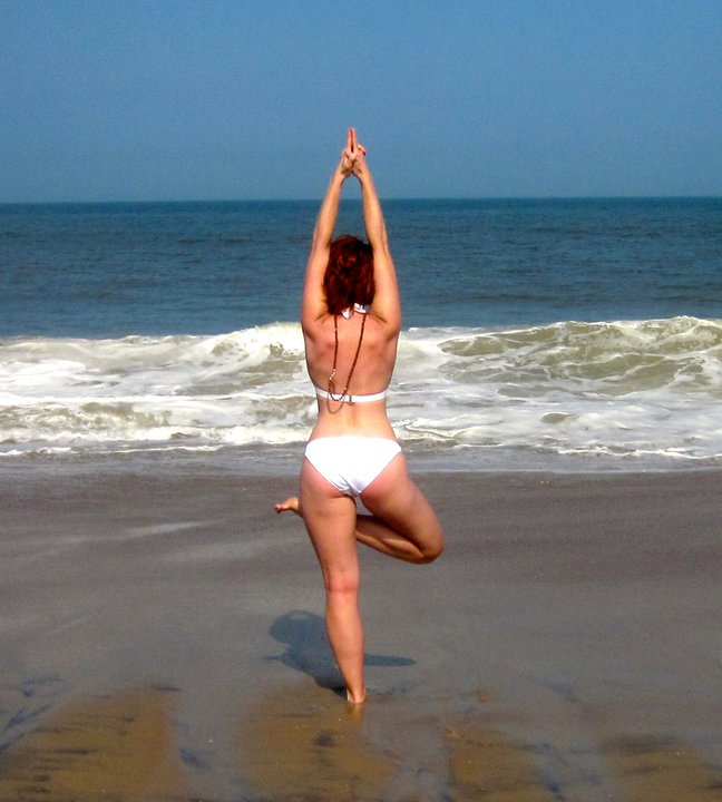 Beach Yoga, Bethany Beach, DE USA